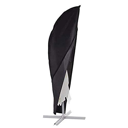 Funda de Paraguas de Tela 210D Oxford,Funda para Parasol Funda Protectora de Sombrilla con Varilla Telescópica Y Bolsa de Almacenamiento,Funda Sombrilla Jardín Impermeable Resistente a Los Rayos UV