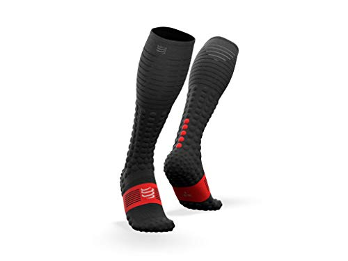 COMPRESSPORT Race&Recovery Socks Calcetines, Hombre, Negro, T3