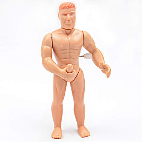 lijun Lustiges masturbierendes Mannspielzeug, Aufziehspielzeug-Streich-Witzknebel für über 14 Jahre alt