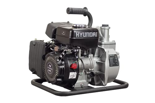 Hyundai, HY40, Motobomba aguas limpias, Negro, Mediana