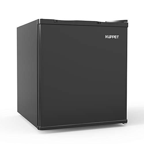 Zokop Compact Upright Freezer, Single Door, Reversible Stainless Steel Door, Adjustable Removable Shelves, 3.0 cu. ft.