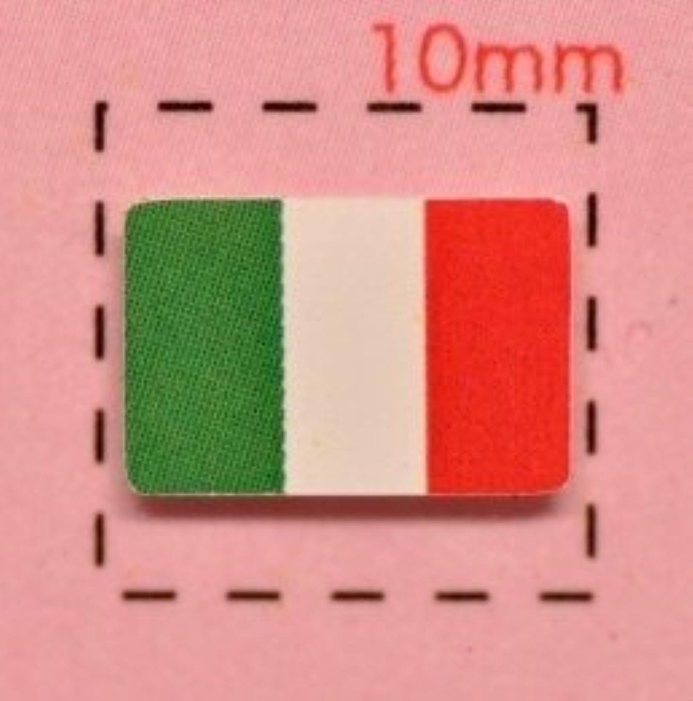 インシデント混沌トリップ【イタリア国旗ネイルシール】トリコローレ/1シート12枚入