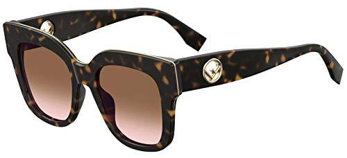 Sunglasses Fendi Ff 359 /G/S 0086 Dark Havana / M2 brown pink gradient lens