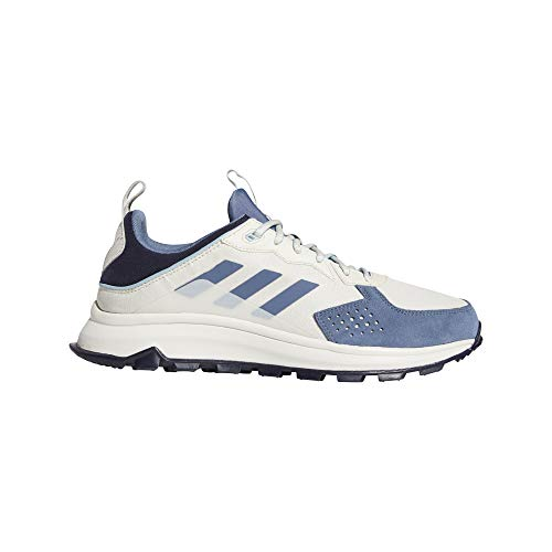 adidas Response Trail, Zapatillas de Running Hombre, Raw White/Tech Ink/Legend Ink, 43 1/3 EU