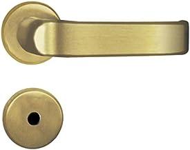 Fechadura para Banheiro Roseta Aço 40mm Mgm Napoli Gold