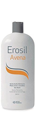 EROSIL – Gel ducha con avena muy hidratante indicado para pieles secas y sensibles – 500 ml