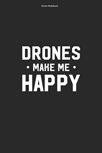 Drone Notizbuch: 100 Seiten | Kariert | Dronenrennen FPV Drone Geschenk Fliegen Lustig Dronen Team Pilot Fan Flug Hobby Quadcopter Dronenpilot Quadrocopter Rennen