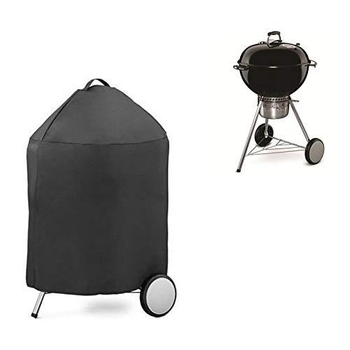 AHGX-cover Couverture de Meubles Meubles Couverture, de Plein air Polyester Couverture de Barbecue, imperméable étanche à la poussière Crème Solaire,Black,70 * 97cm