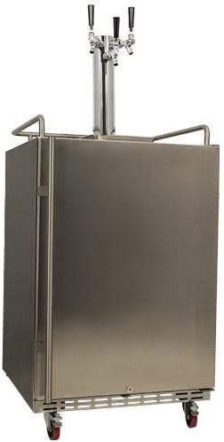 EdgeStar KC7000SSTRIP Full Size Very popular Triple Cooled Built-In Under blast sales Tower Tap