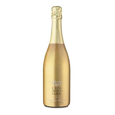 CLOS MONTBLANC Cava Brut Nature Reserva - Spanish Sparkling Wine 75cl, 1 Bottle