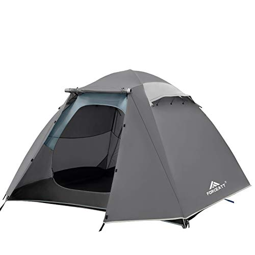 Forceatt 4 Person Camping Tent, Professional Waterproof & Windproof & Pest Proof. Lightweight Backpacking Tent Suitable for Glamping,Hiking, Outdoor, Mountaineering and Travel