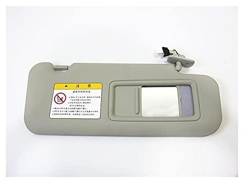MeiZi Accesorios para automóviles con lámpara Sun Visor Fit para Mazda Axela con un Espejo de Maquillaje Visera Solar (Color : RH Passenger Side)