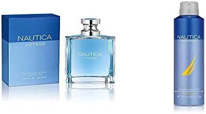 Nautica Voyage By Nautica For Men Eau De Toilette Spray 3 4 Fl Oz and Nautica Voyage Body Spray product image