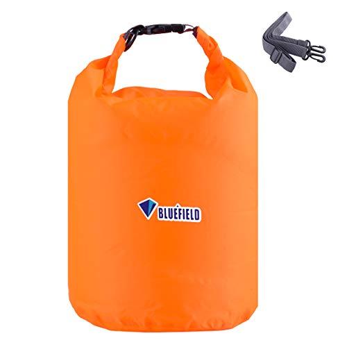 TRIWONDER Bolsa Estanca Impermeable 10/20/40L Bolsa Seca para Camping Playa Navegación al Aire Libre (Naranja, 40L)
