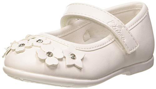 Chicco Mädchen Ballerina Clora Ballerinas, Weiß (Bianco 300), 23 EU