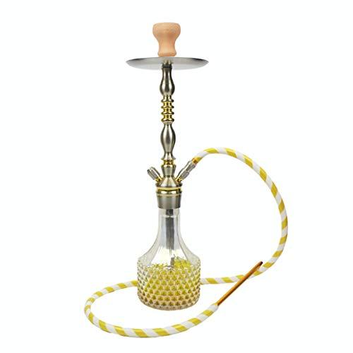 Arabische Wasserpfeife mit Ananas-Muster, großer Topf, arabische Wasserpfeife, Shisha Bar, KTV, komplettes Set, geeignet für Familien, ausländische Hotels, Bars, Clubs, Hotels