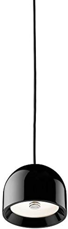 Flos WAN S NRO Glas, schwarz 11,5x8,9cm