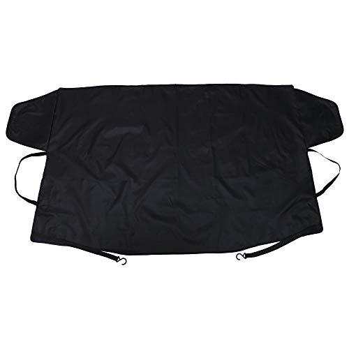 ZZXXYY Cubierta del Parabrisas del Coche Coche de Invierno Mirror Escudo de Espejo Cubierta Anti Frost Snow Snow UV Sun Dust Screen Protector
