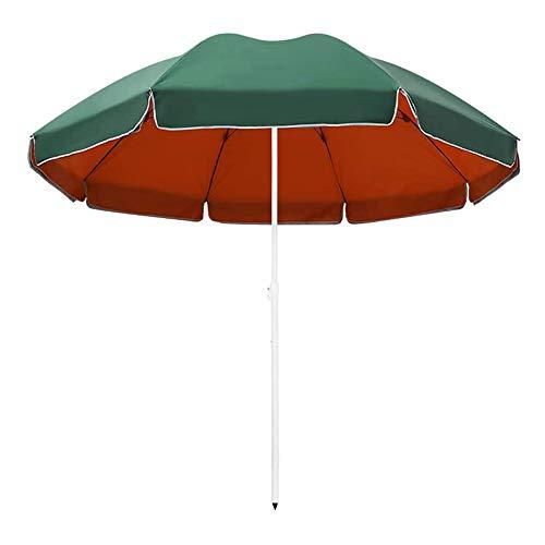 CHLDDHC Paraguas de patio al aire libre paraguas impermeable gran mercado mesa paraguas con bolsa de transporte sin base