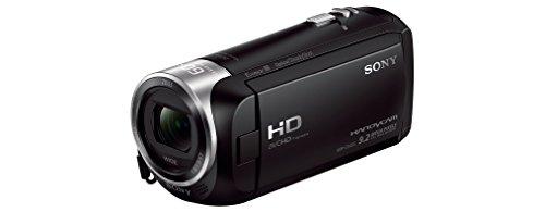 Sony HDR-CX405 Full HD Camcorder (30-fach opt. Zoom, 60x Klarbild-Zoom, Weitwinkel mit 26,8 mm, Optical Steady Shot) schwarz & Amazon Basics 127cm (50) Lightweight Tripod with Bag