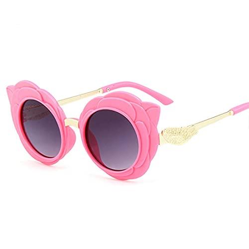 ShZyywrl Gafas De Sol Mango Round Cute Gafas De Sol para Niños para Niño Niña Lovely Gafas De Bebé Rd75-2