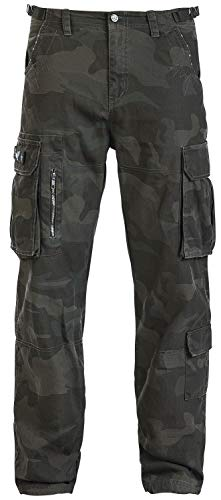 Black Premium by EMP Army Vintage Trousers Männer Cargohose darkcamo 4XL