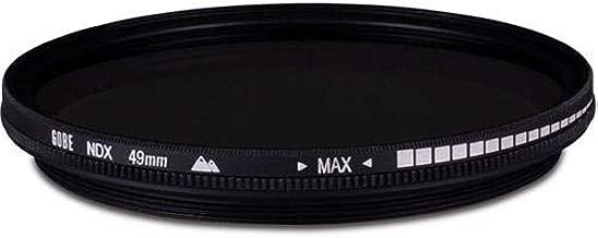 Gobe NDX 49mm Variable Lens Filter  1Peak