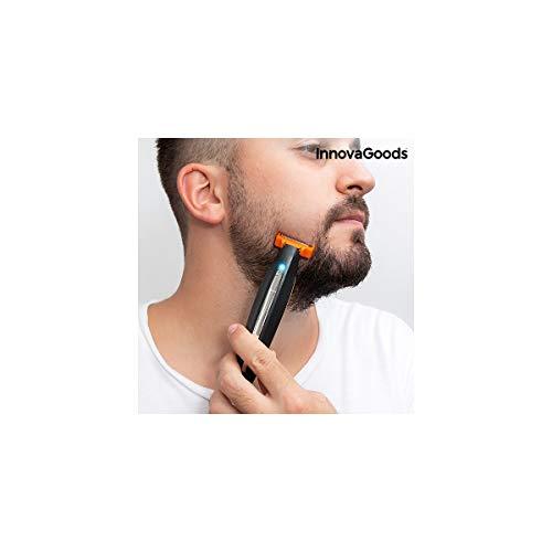 InnovaGoods IG813499 - Afeitadora Eléctrica Recargable de Precisión 3 en 1