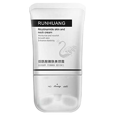 UKtrade Double Roller V-shape Neck Cream Massager Anti-wrinkles Firming Neck Cream Moisturizing Smoothing Rejuvenating Lifting Elasti