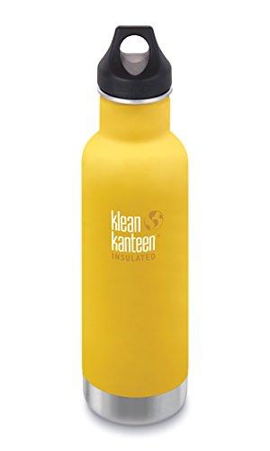 KLEAN KANTEEN 592 ml LOOP CAP - LEMON CURRY