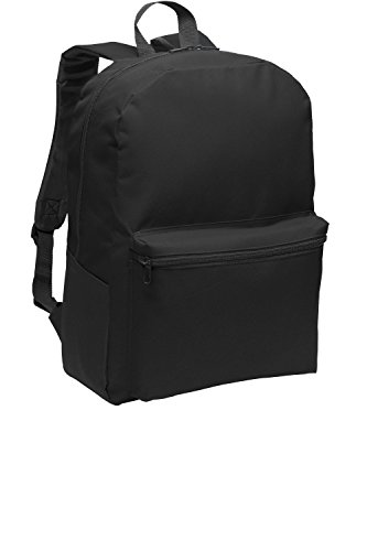 Port Authority Value Backpack>One size Black BG203