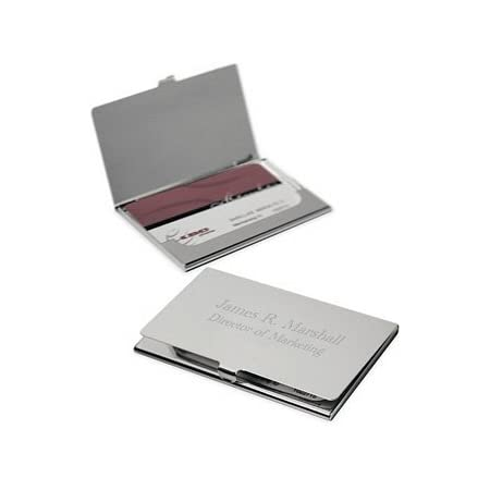 Staff Recognition Gifts Marble Office Accessory E90 Credit Card Holder Personalized Business Card Case for Women Metal Business Card Case