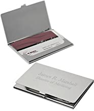 Best business card holder free engraving Reviews
