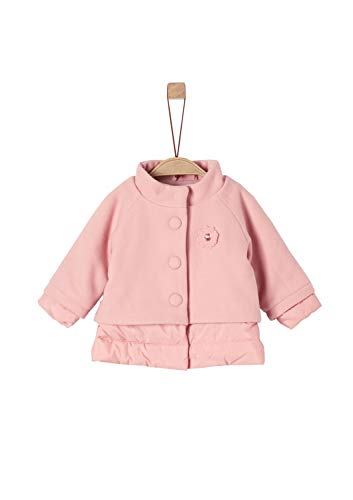 s.Oliver RED LABEL Unisex - Baby Mantel im Fabric-Mix light pink 92