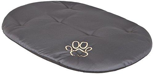 Hobbydog R6PODGRA3 Hundebett Hundesofa Hundekorb Tierbett Kissen, Größe 75 x 58 cm, grau