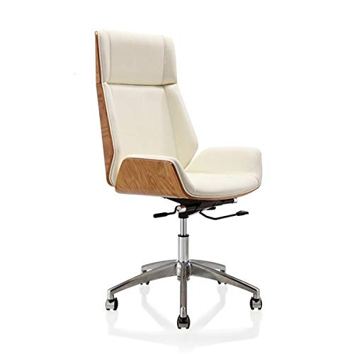 Computer Chair Furniture Curved Wood Turning Chair Bent Wood Office Computer Chair Home Office Leather Conference Office Chair Office Chair