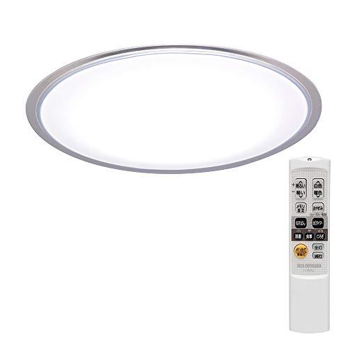 アイリスオーヤマ LED シーリングライト クリアフレーム 調光10段階 調色11段階 ~8畳 (日本照明工業会基準) 4000lm ナツメ球 5年保証 明るさメモリー 長寿命 高演色 省エネ おやすみタイマー 取付簡単 リモコン CL8DL-5.0CF
