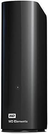 WD Elements Desktop 4TB - Hard Disk Esterno, USB 3.0