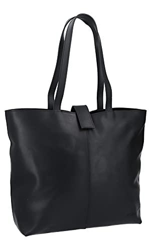 Gusti Shopper Leder - Alexandra Handtasche Damen Arbeitstasche Schwarz Leder