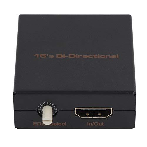 FOLOSAFENAR HDMI EDID Feeader Emulador EDID fácil de Instalar, para proyector de TV, para Consola de Juegos, Compatible con 4K CEC