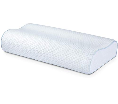 Memory Foam Pillow for Sleeping, Cervical Pillow for Neck Pain, Head and Neck...