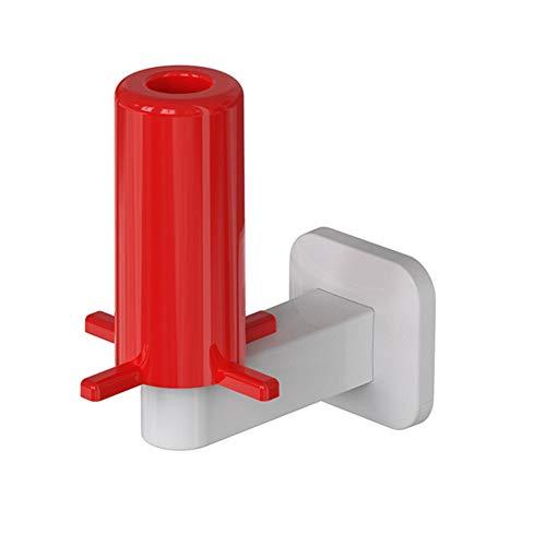 TTinah portarrollos Adhesivo portarrollos para Papel higiénico Soporte de Rollo de baño de succión Papel higiénico Rollo White-Red