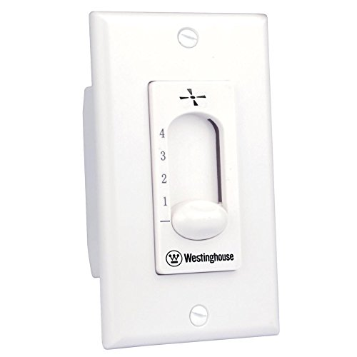 Westinghouse Lighting 7787200 Ceiling Fan Wall Control , White