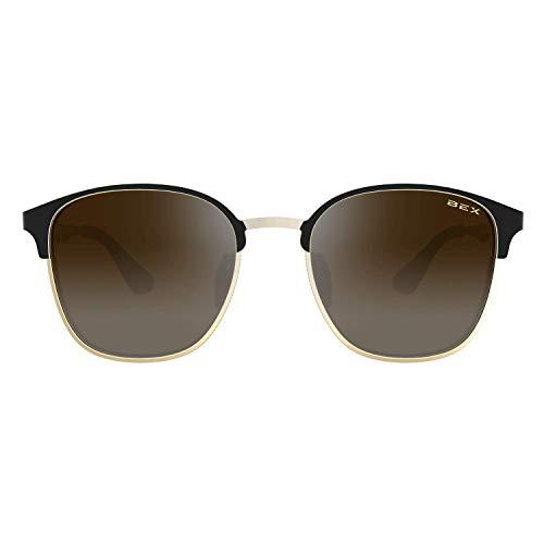 BEX Tanaya Polarized Gold/Black Sunglasses