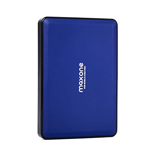 2.5'' Portable External Hard Drives 160GB-USB 3.0 HDD Backup Storage for PC, Desktop, Laptop, TV, Mac, MacBook, Chromebook, Windows - Blue