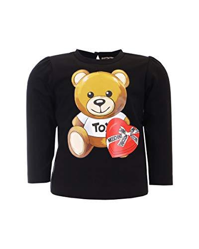 MOSCHINO BABY Camiseta de Chocolate Box para bebé Negro 74 cm(9-12 meses)