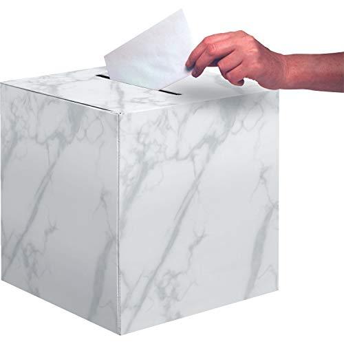 Creative Converting 346379 Mr. Hochzeitskarten-Box, Maße: 30,5 x 30,5 x 30,5 cm, mehrfarbig