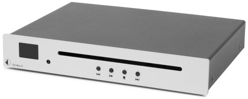 Pro-Ject CD BOX S CD-Player (Standgerät) silber