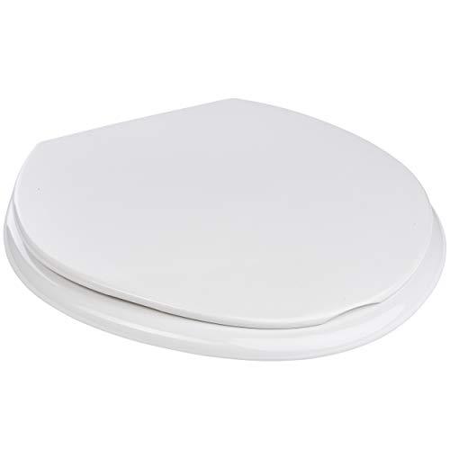 ONVAYA® Toilettensitz XXL | bis 450 kg Tragkraft | WC Sitz | Toilette | Toilettendeckel | Klodeckel