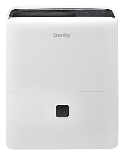 Danby DDR095BDPWDB 95 Pint Dehumidifier, White